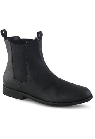 TROOPER-12 Black Beatle Boots