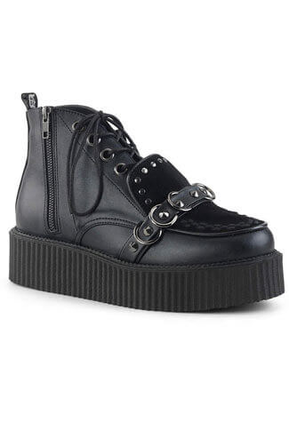 V-CREEPER-555 Oxford Lace-Up High-Top Creeper