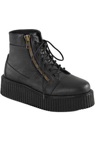 V-CREEPER-571 Black Creeper Boots