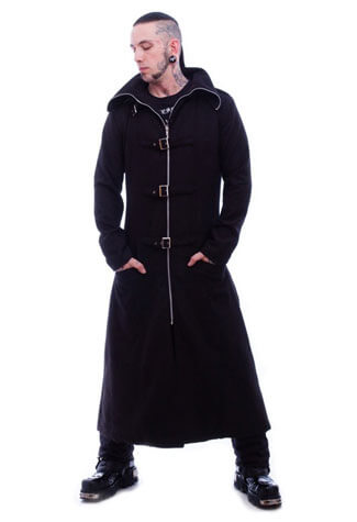 Mens Woolen Highwayman Coat