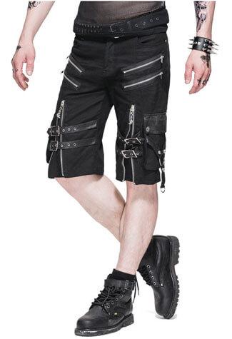 Mens Zipper Shorts