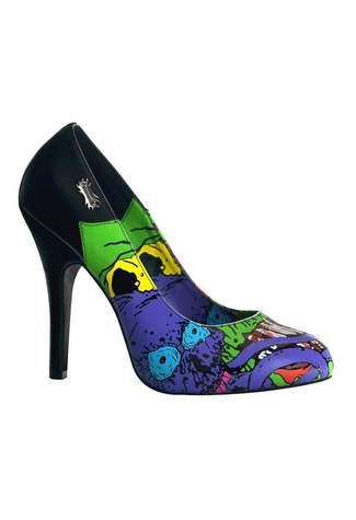 ZOMBIE-03 Black High Heels