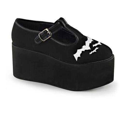 49e7aa12078 CLICK-04-2 Bat Platform Shoes - Platform shoes for men and women at  Rivithead