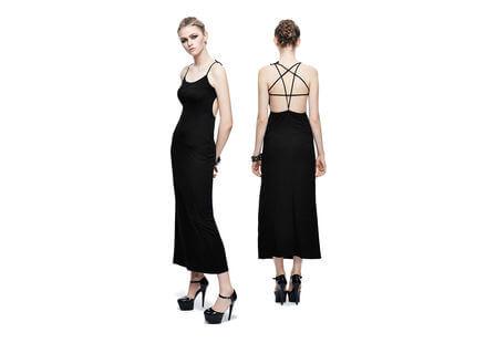 Aemilia Pentagram Back Gothic Dress