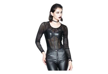 Keva Women's long sleeve mesh shirt