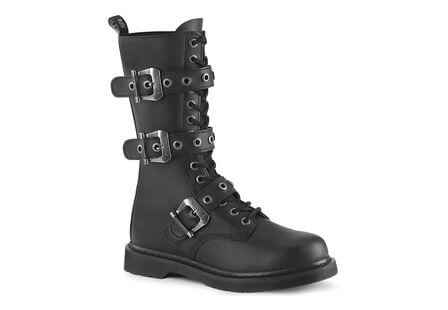BOLT-330 3 strap buckle boots