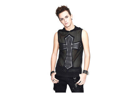 Carbon Cross Men's Mesh Shirt