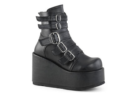 CONCORD-57 Platform Strap Boots