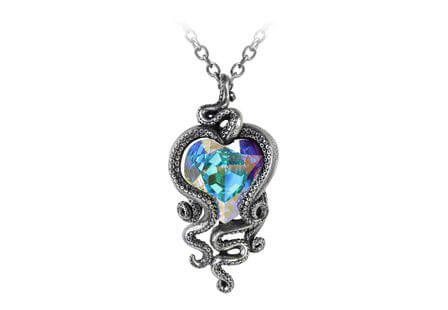 Heart of Cthulhu Pendant Necklace