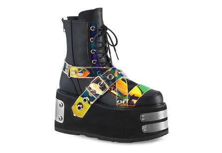 DAMNED-116 Mirror Platform Boots