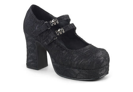 GOTHIKA-09 Black Satin-Lace