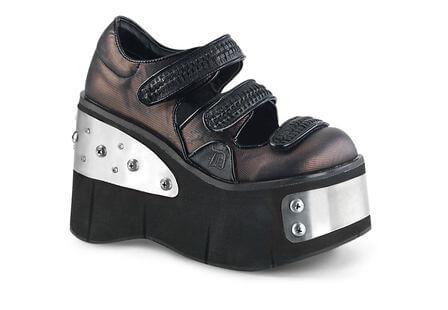 KERA-13 Pewter Platform Shoes