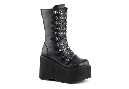 KERA-50 Vegan Leather Platform Boots