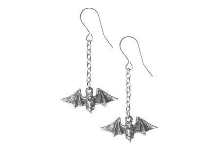 Kiss the Night Bat Earrings