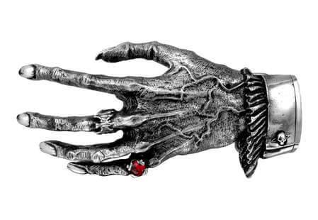 Nosferatu's Hand Belt Buckle