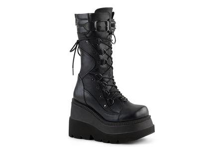 SHAKER-70 Wedge Platform Boots
