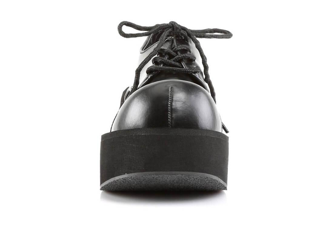 1764bea99ed DANK-101 Black Platform Shoes alternate view
