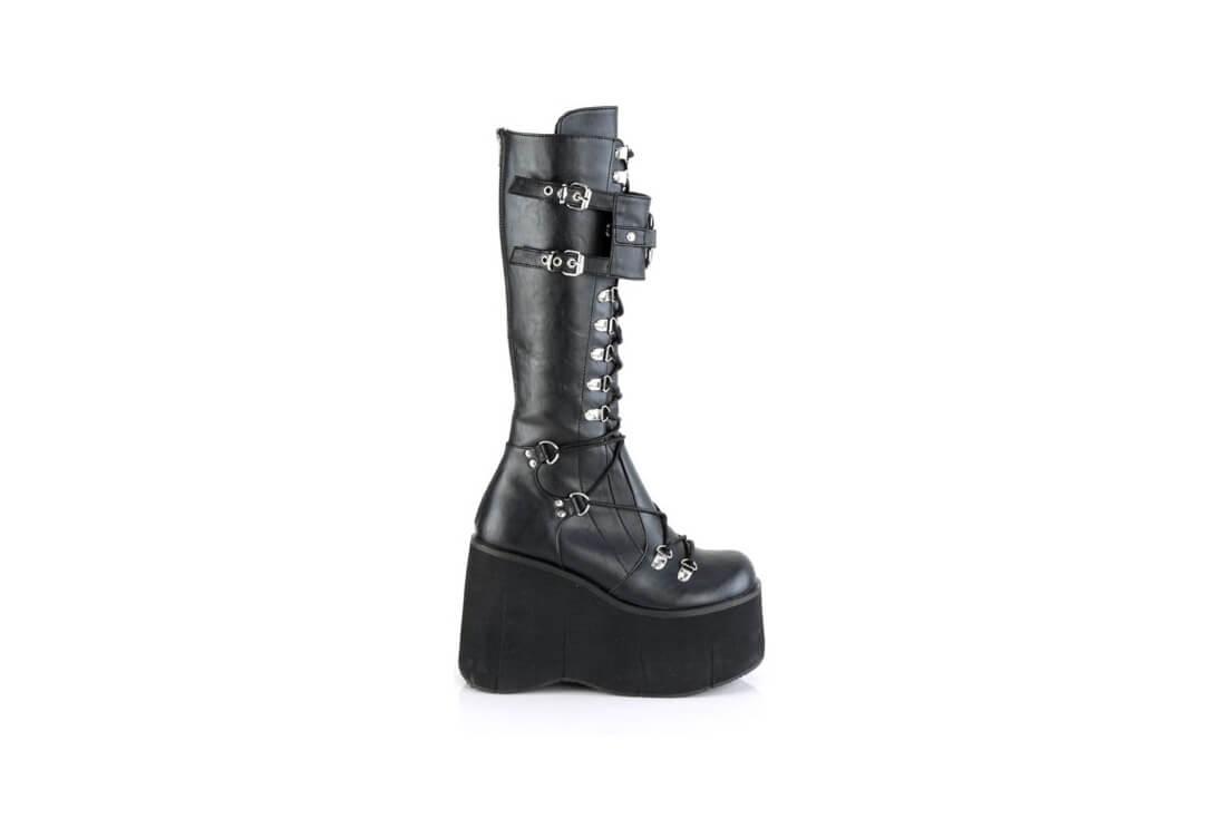 324f44c1a135 KERA-200 | 4 1/2 inch women's black platform boots