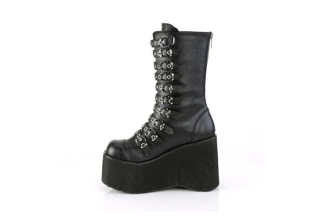 4692b5e08229 KERA-50 Vegan Leather Platform Boots alternate view