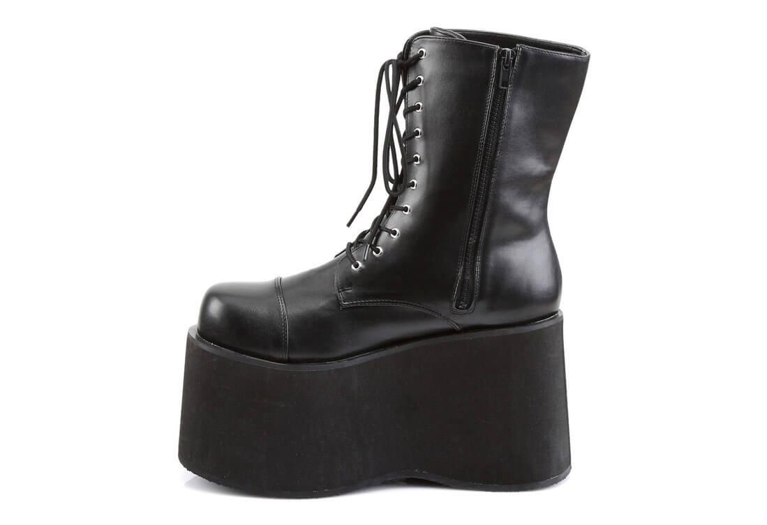 a508bc0046f3 MONSTER-10 Black Platform Boots alternate view