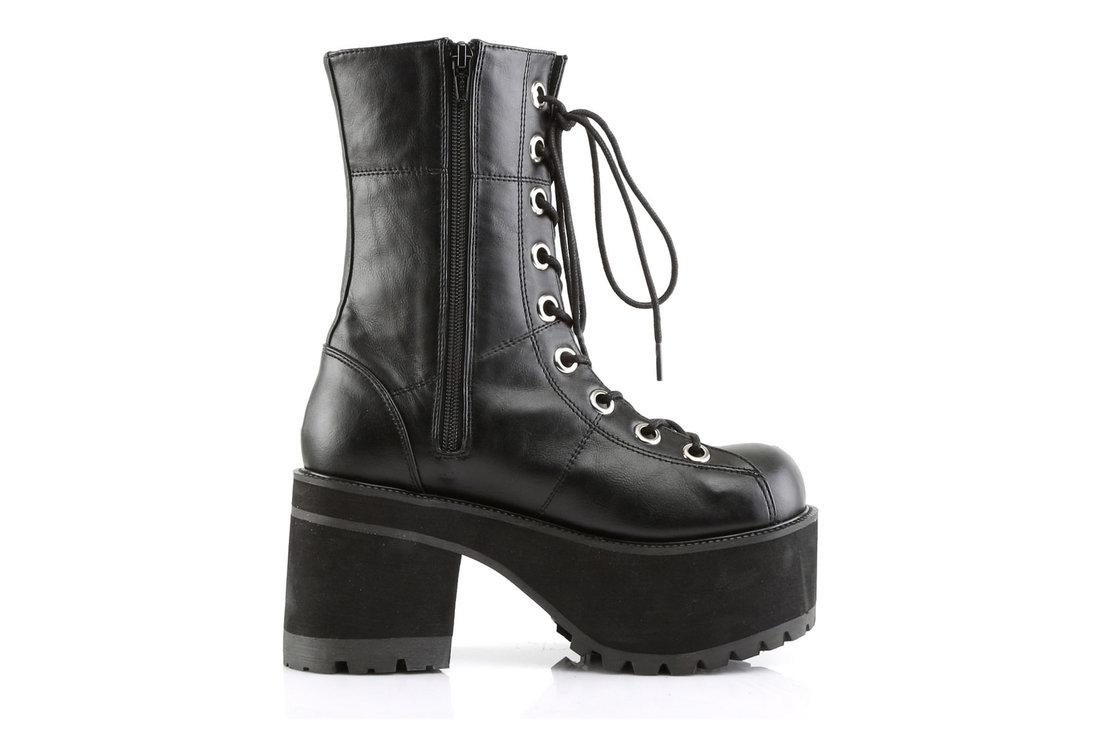 63b5f09e00d RANGER-301 Black Platform Boots