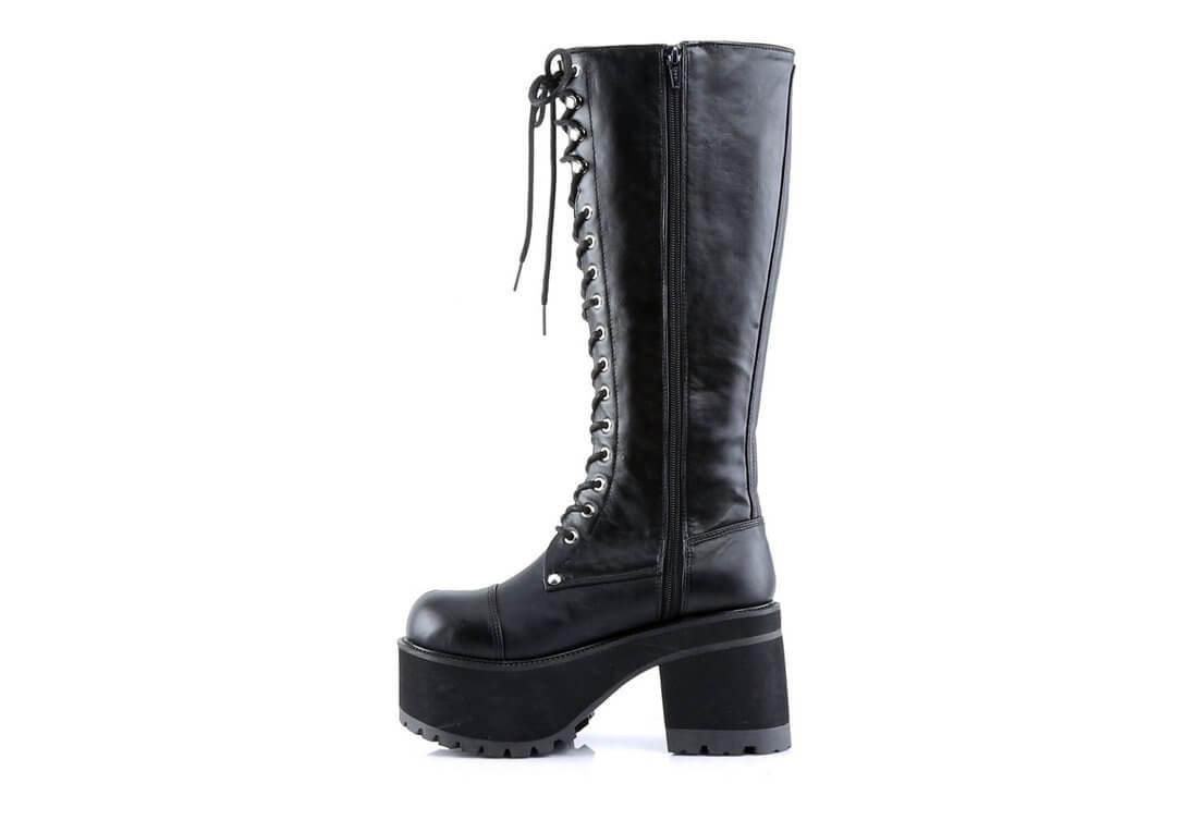 c9e7ce15ebb RANGER-302 men s black knee high boots alternate view