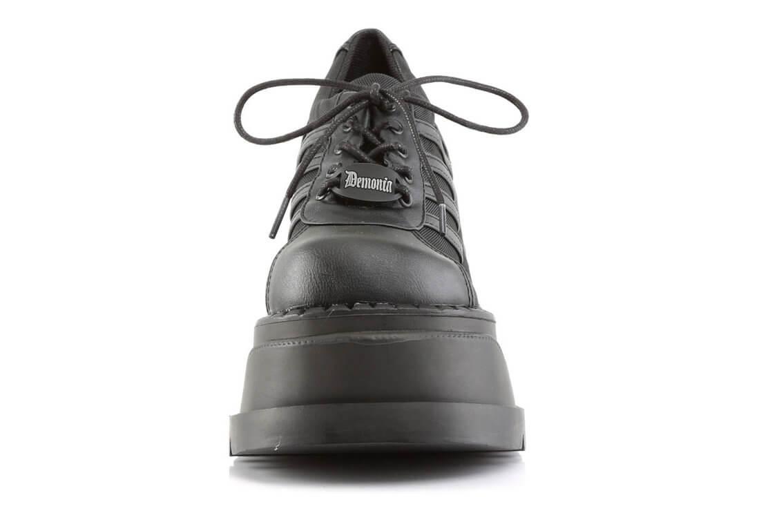 93beda38e9b STOMP-08 Black Platform Shoes alternate view