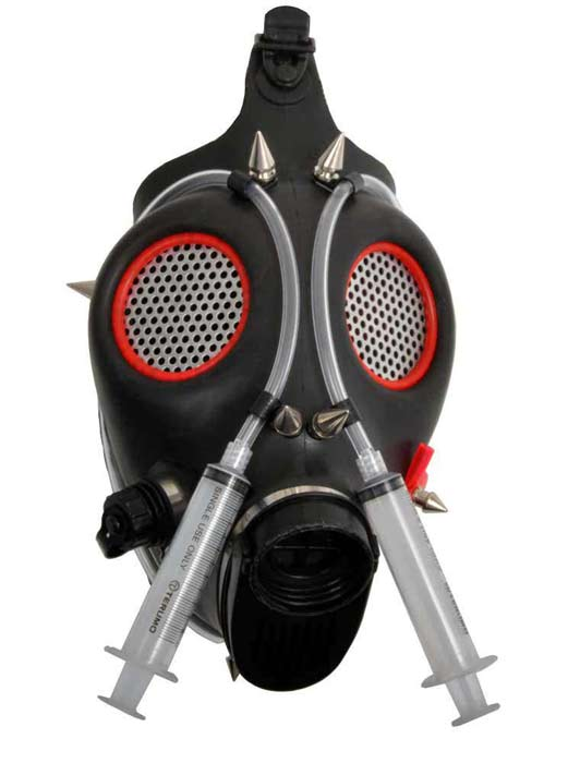 Cyber Syringe Gas Mask view 1  sc 1 st  Rivithead : gas mask costumes  - Germanpascual.Com