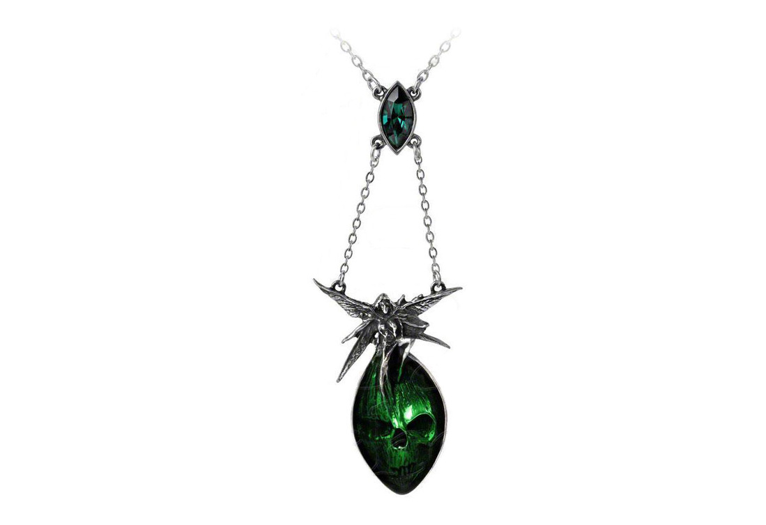 Absinthe Fairy Pendant Necklace By Alchemy Of England