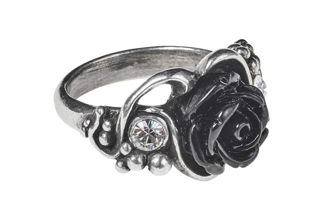 pair pewter metal filigree rings round