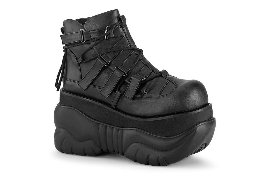 BOXER-13 Men's 4 Inch Tall Platform Shoes