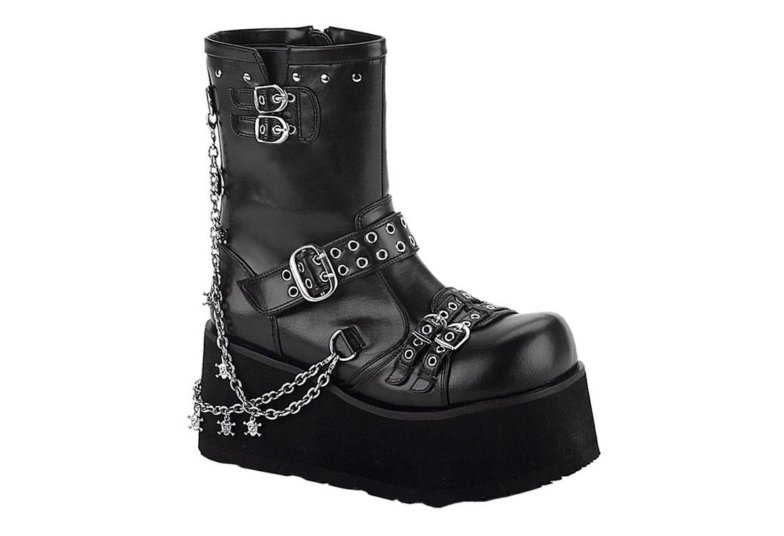 500c42cc1db CLASH-430 Boots Black Chain