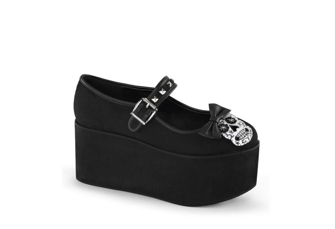 945f2a9aefc CLICK-02-3 Skull Platform Shoes view 1