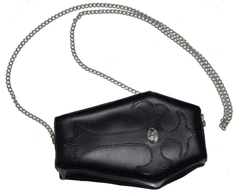 Coffin Leather Purse by Alchemy Gothic