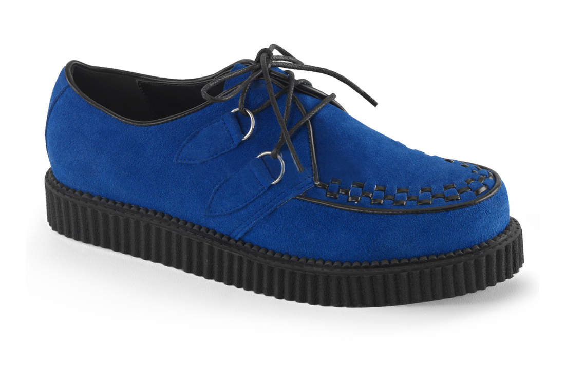 d0e67766899 CREEPER-602S Blue Suede Creepers view 1