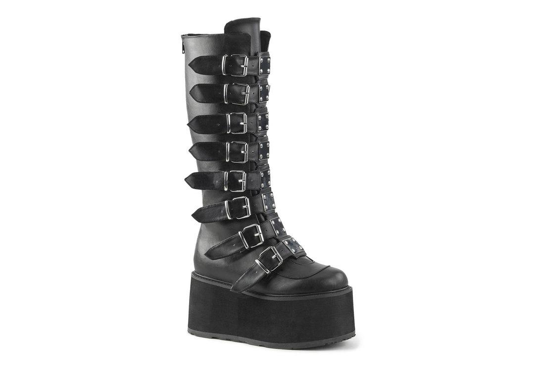 c564093c793 Damned-318 Black Platform Boots