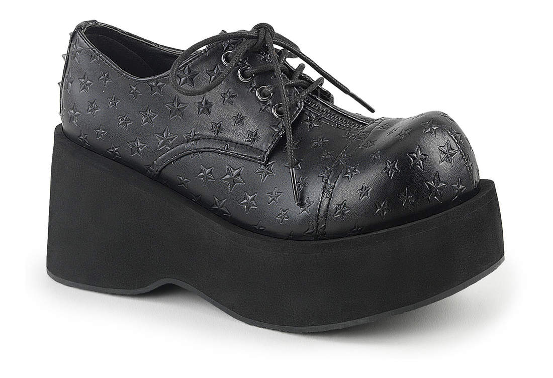 9488e040519c DANK-111 Platform Lace-Up Oxford Shoe view 1
