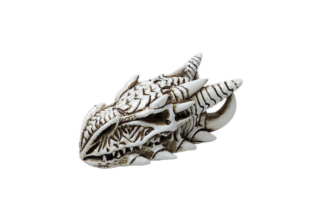 Dragon Skull Miniature Figurine Download files and build them with your 3d printer, laser cutter, or cnc. dragon skull miniature figurine