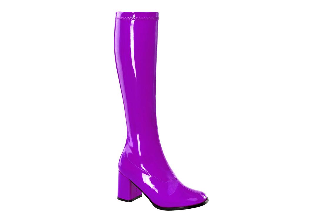 GOGO-300 Purple Gogo Boots