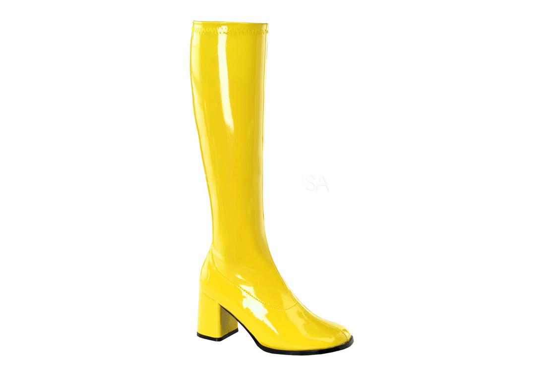 1b6eae4250d GOGO-300 Yellow Gogo Boots view 1