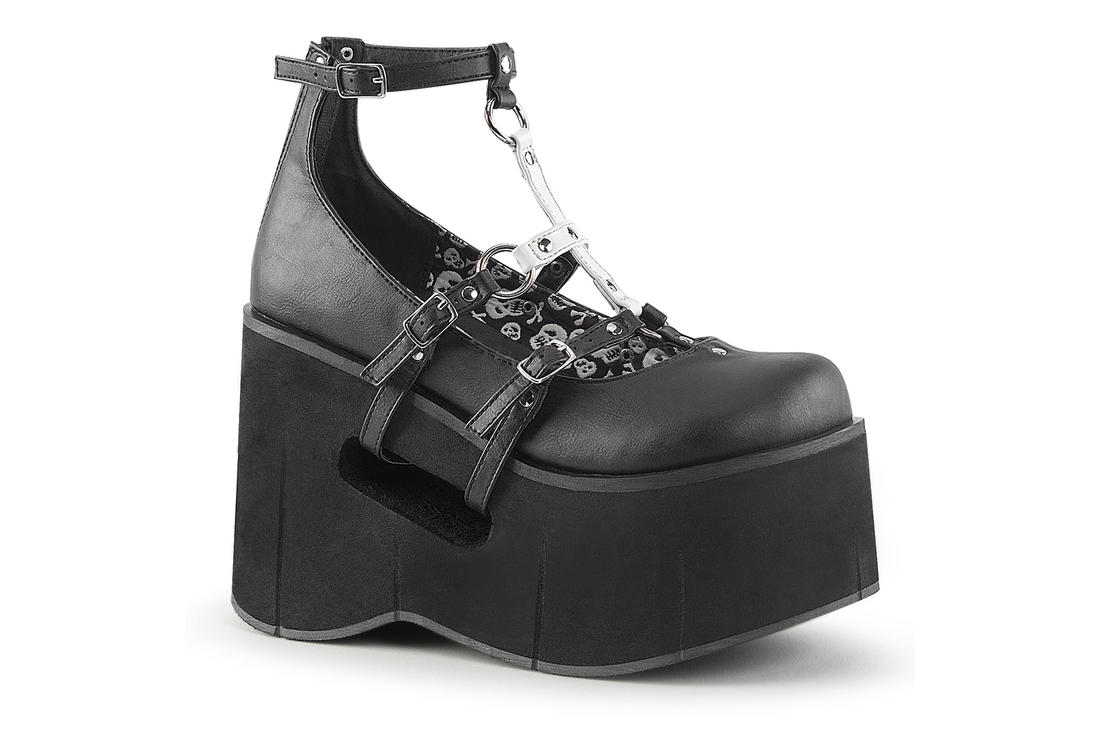 bba143e15a4 Demonia KERA-09 Platform Shoes with Upside Down Cross