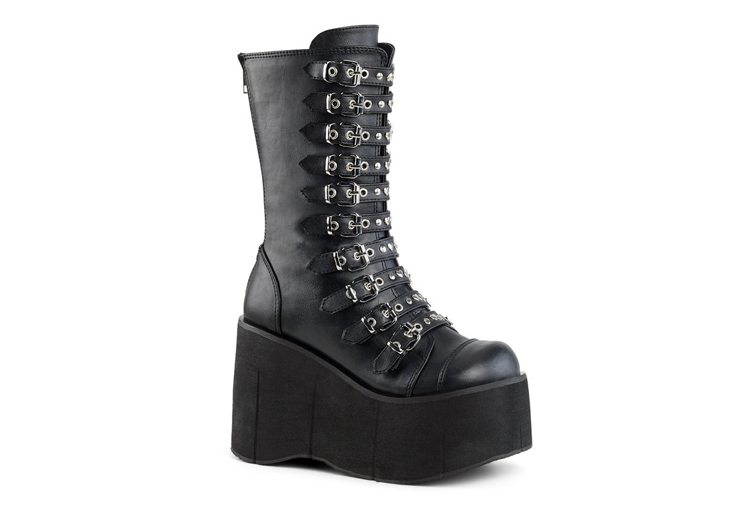 534a94763204 KERA-50 Vegan Leather Platform Boots. Hover to zoom