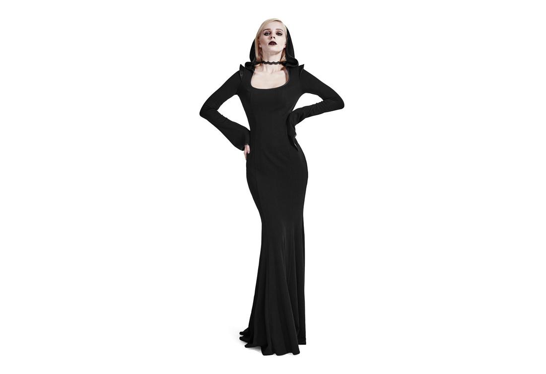 Maya Women\'s Hooded Gothic Dress