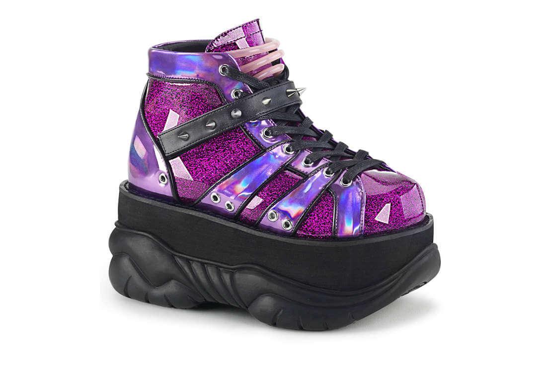 NEPTUNE-100 Purple Glitter Hologram