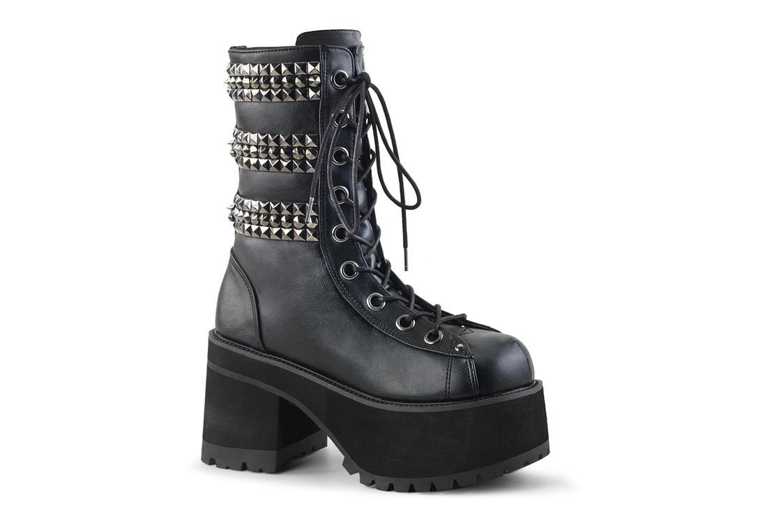 f774b1a31cd RANGER-305 pyramid studded boots