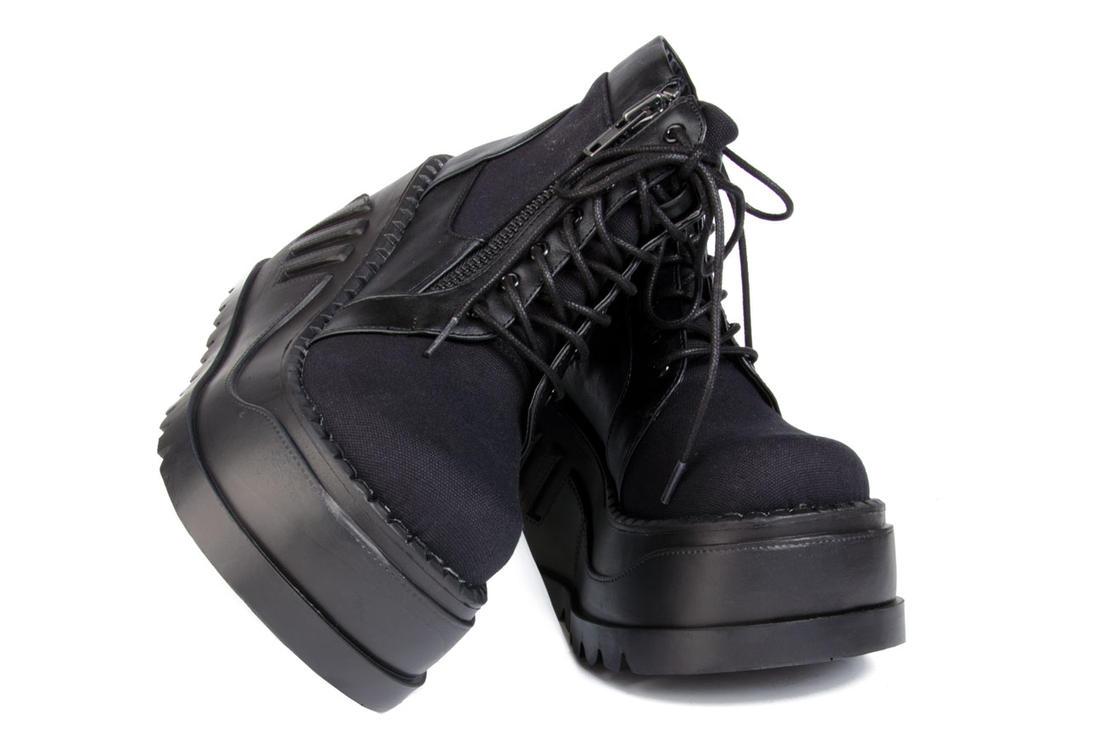 utterly stylish huge discount popular stores STOMP-10 Vegan Platform Shoes