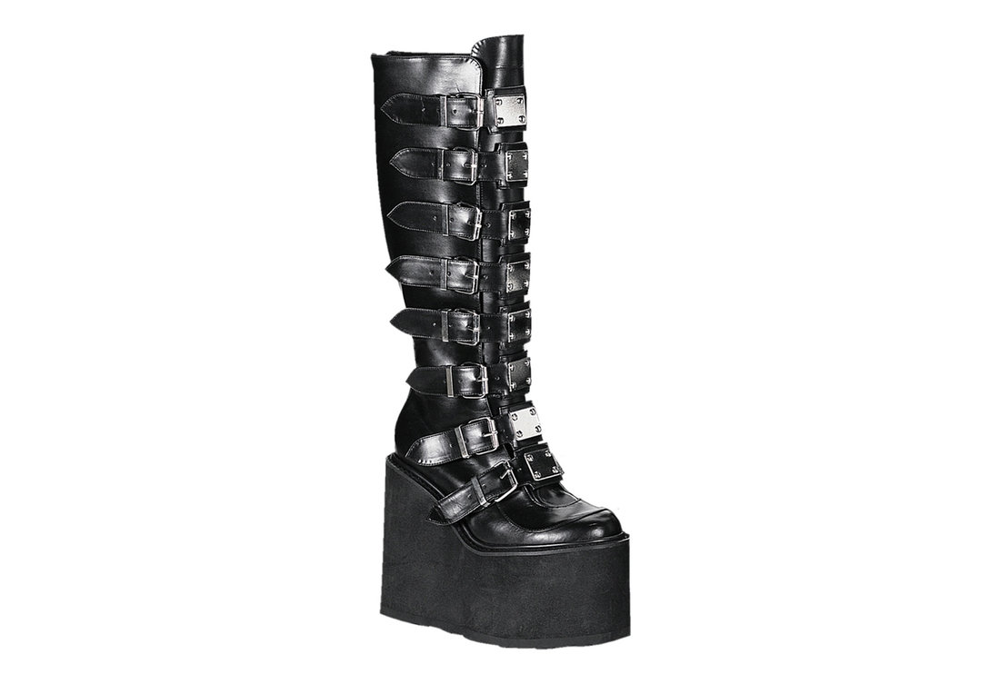 f494e56a0d4 SWING-815 Black Metal Boots